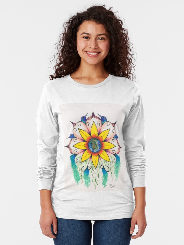 Alternate view of Symphony of Summer Long Sleeve T-Shirt