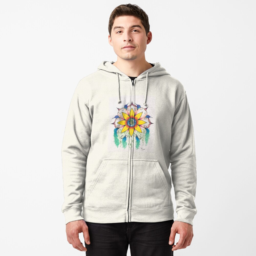 Symphony of Summer Zipped Hoodie