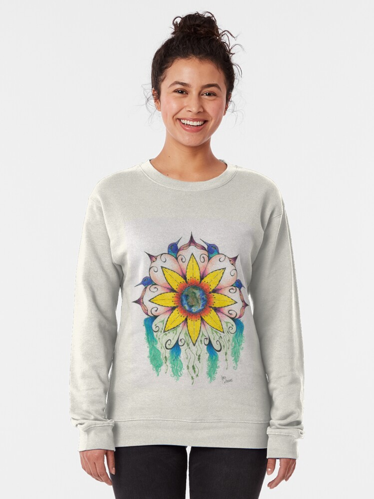 Alternate view of Symphony of Summer Pullover Sweatshirt