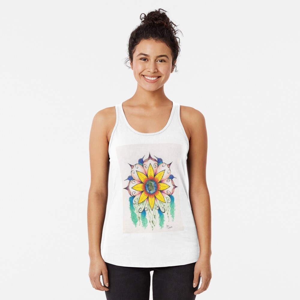Symphony of Summer Racerback Tank Top