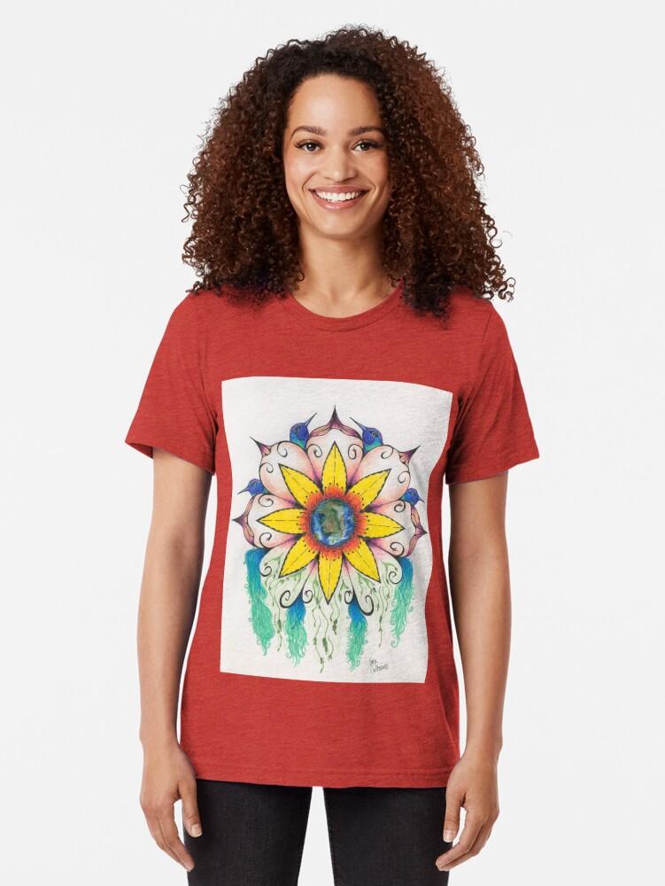Alternate view of Symphony of Summer Tri-blend T-Shirt