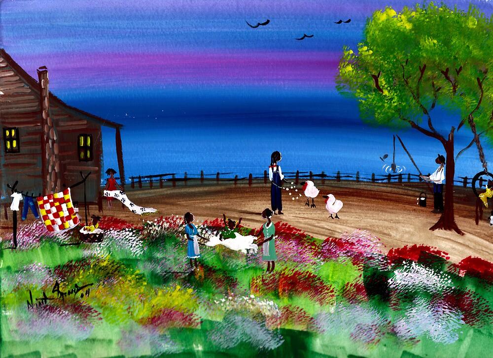 Bayou Life by ninaspencer