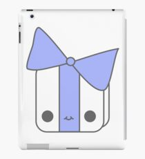 Smiling Gift Blue iPad Case/Skin