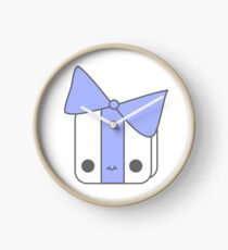 Smiling Gift Blue Clock