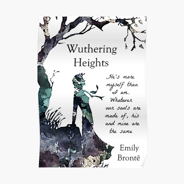 Wuthering Heights, Emily Bronte  Poster