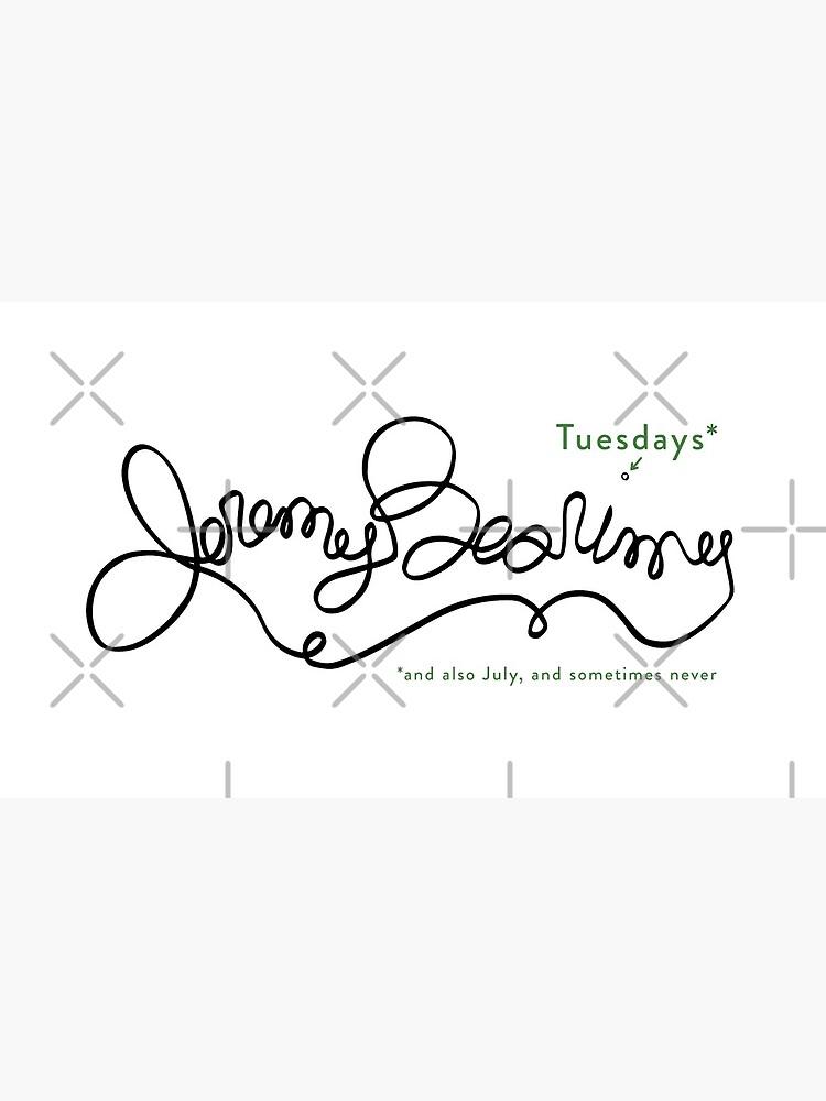 Jeremy Bearimy (with notation) by KingPagla