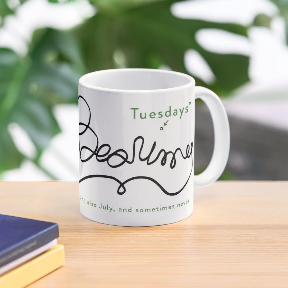Jeremy Bearimy (with notation) Mug