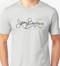 Jeremy Bearimy (with notation) Unisex T-Shirt