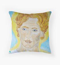 Saint Hilarion - Close up Throw Pillow