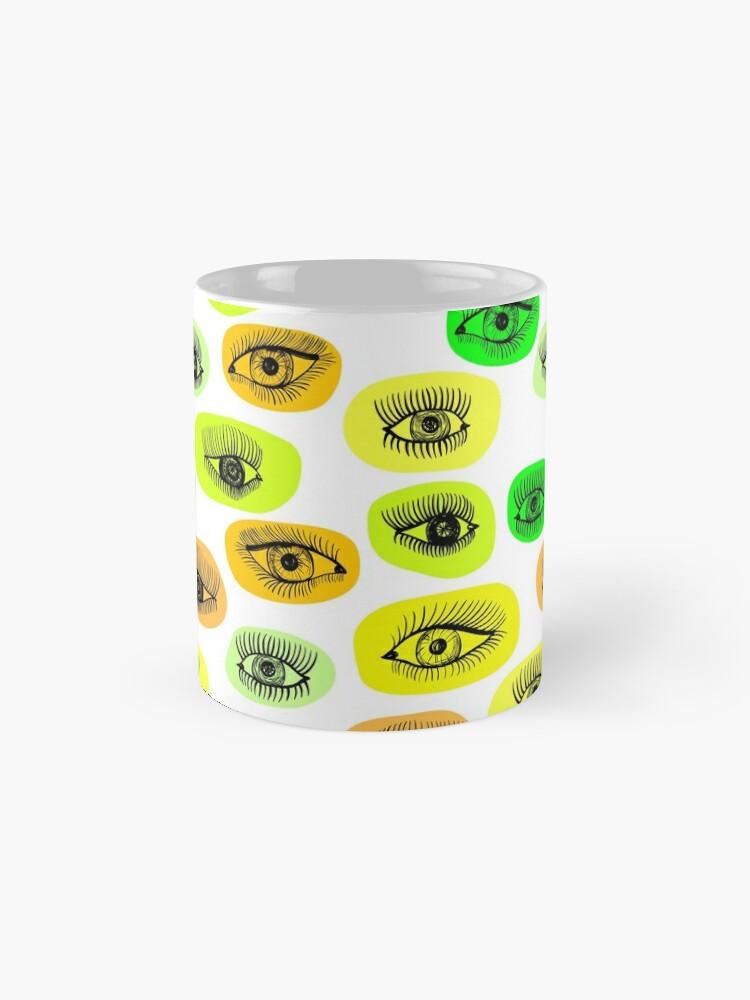 Alternative Ansicht von Augenmotiv Tassen