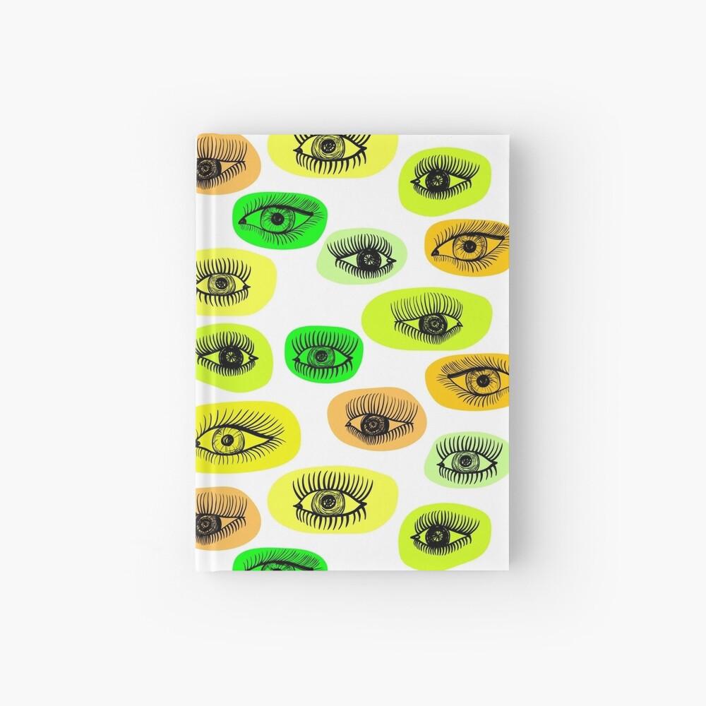 Augenmotiv Notizbuch