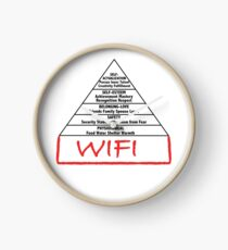 Wifi pyramid basis Clock