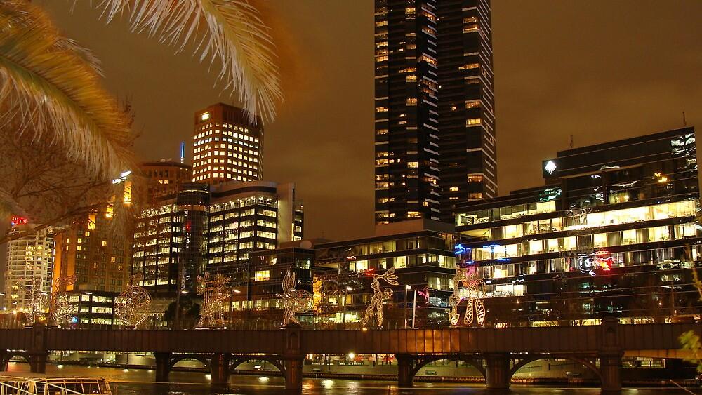 Southbank, Melbourne by Neeraj Nema