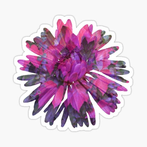 Herbstblume Sticker
