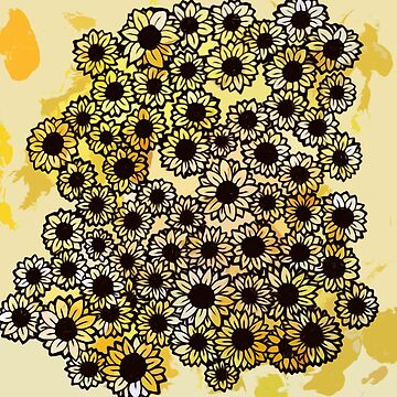 90s Sunflowers by Boogiemonst