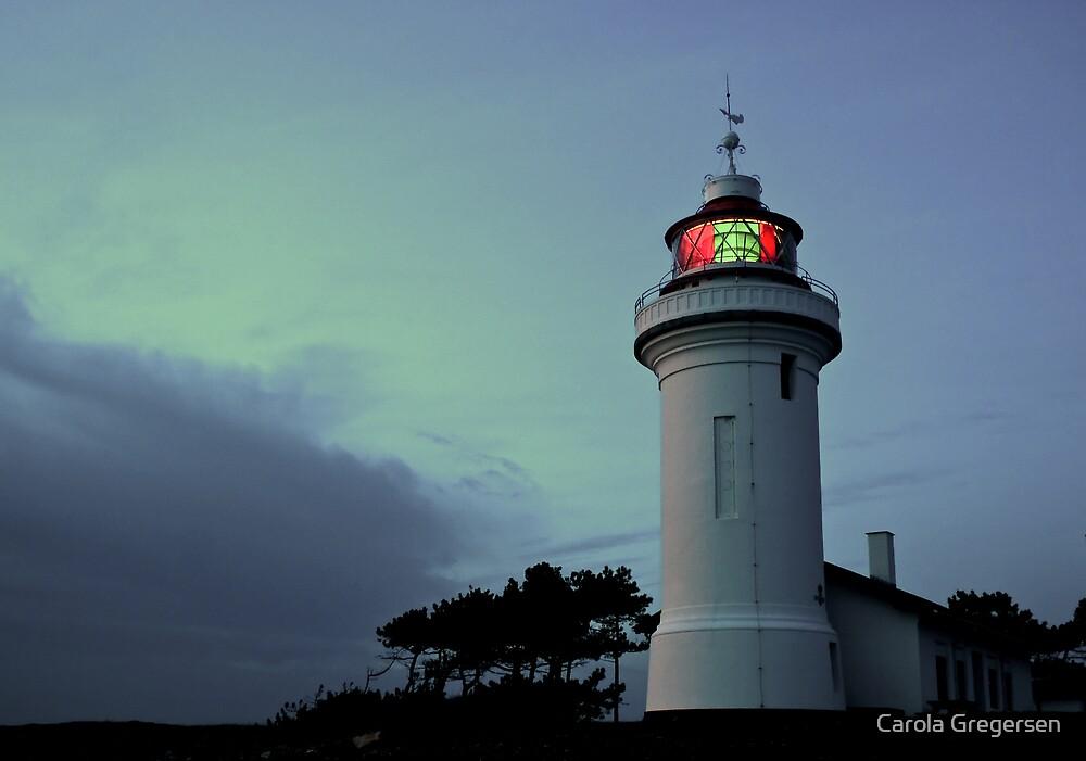 Sletterhage Lighthouse by Carola Gregersen