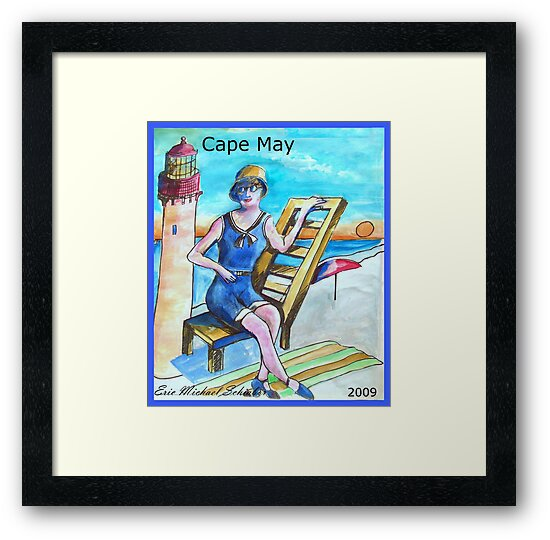Cape May Poster by schiabor