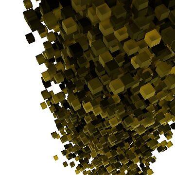 3d Blocks Art by humanwurm