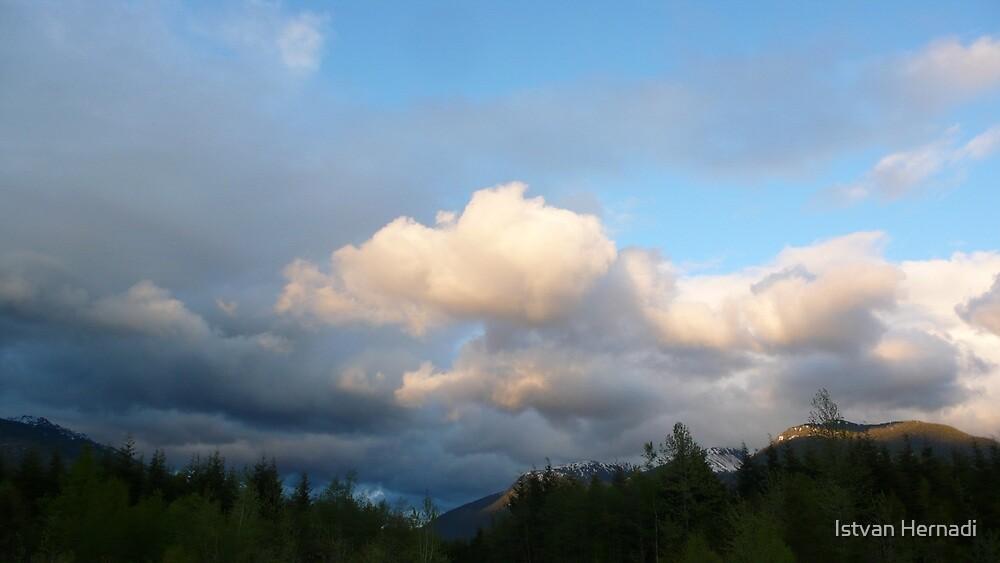 clouds near Kitimat by Istvan Hernadi