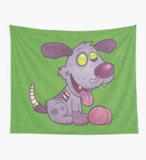 Zombie Puppy Wall Tapestry
