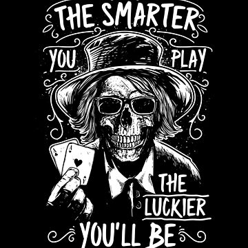 Funny Poker lucky Poker Player Saying Tee gift by peter2art