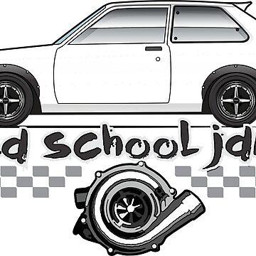 Old School JDM Multi-Color-Body Option Apparel 2 by JRLacerda