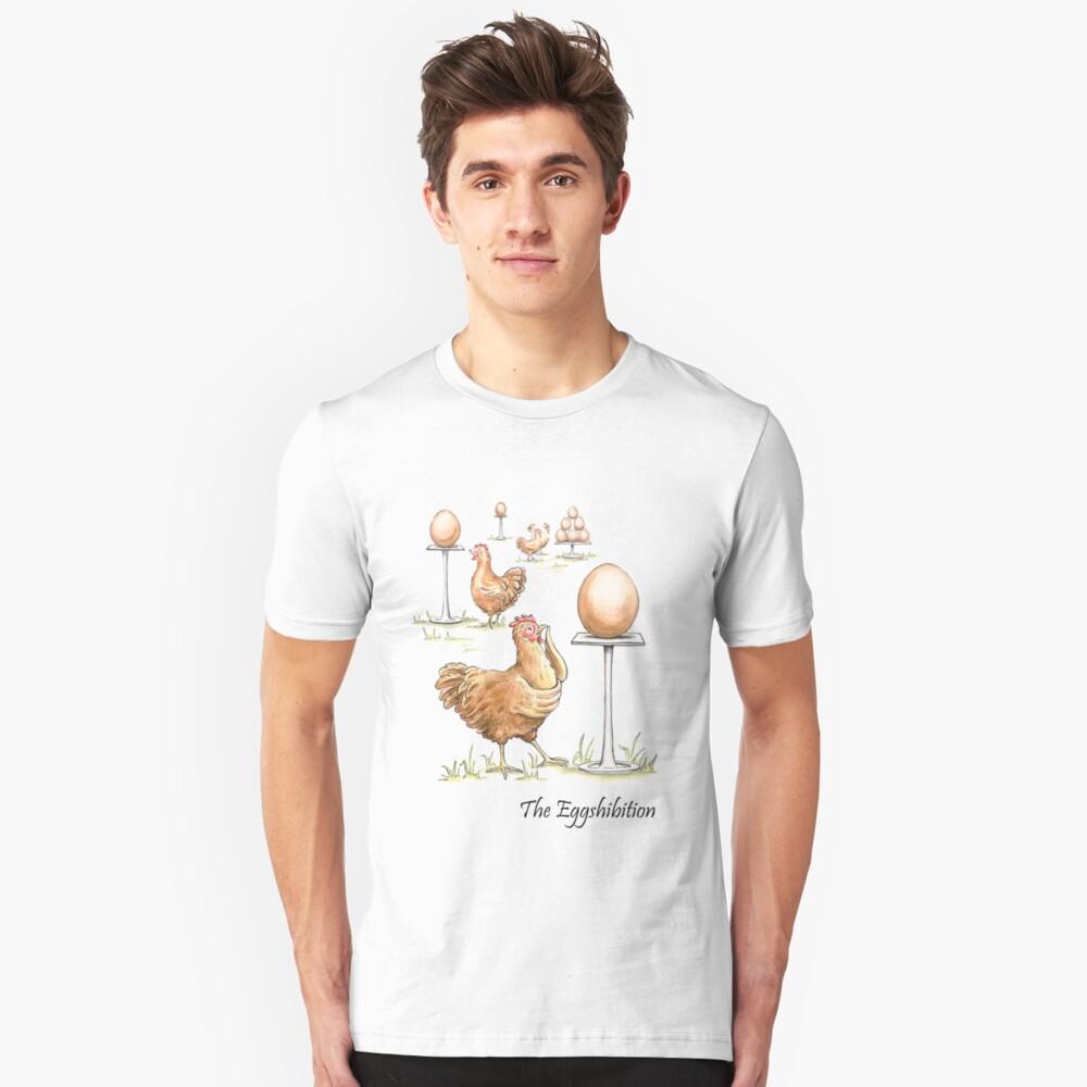 The Eggshibition Unisex T-Shirt Front