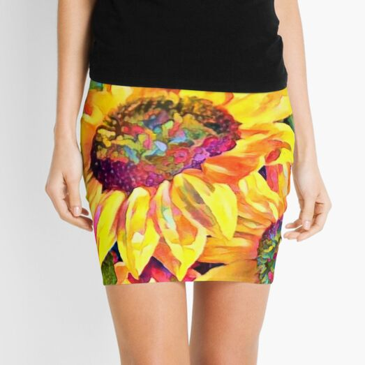 Sunny Faces Mini Skirt