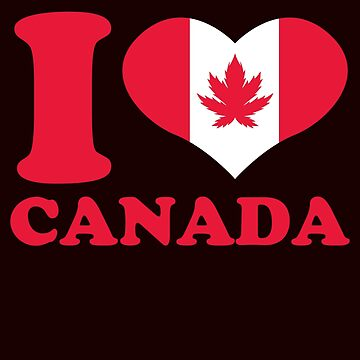 Canada love weed by schnibschnab