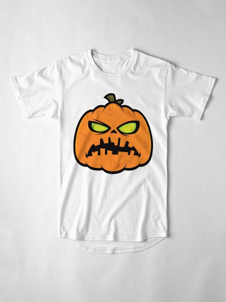 Alternate view of Pumpkin Zombie Long T-Shirt