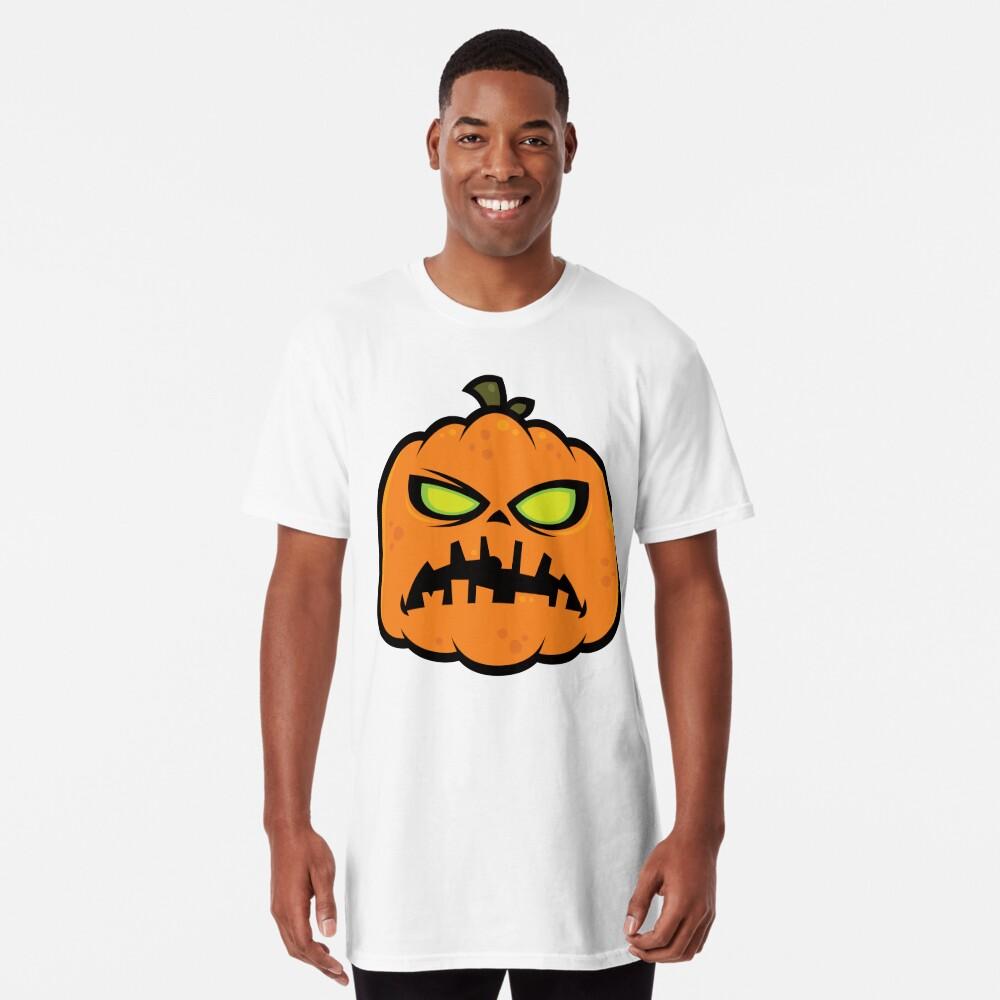 Pumpkin Zombie Long T-Shirt