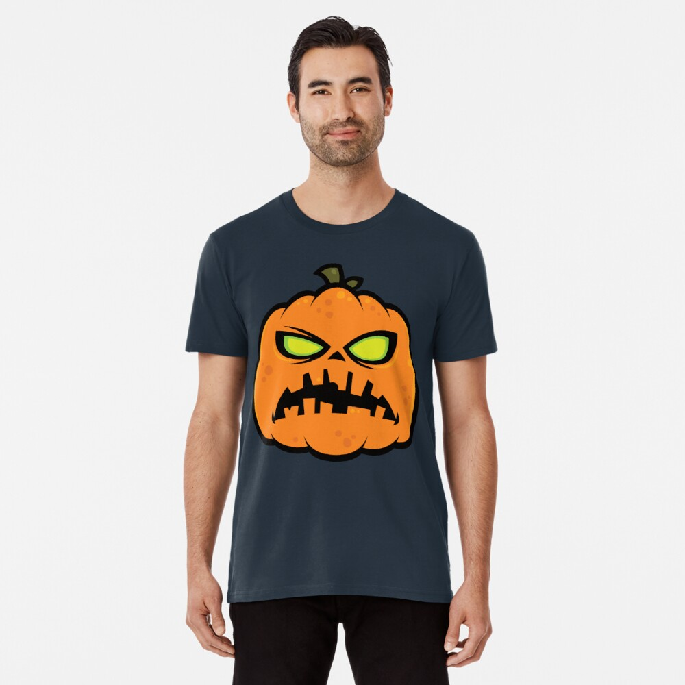 Pumpkin Zombie Premium T-Shirt