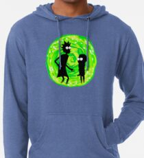 Rick and Morty Lightweight Hoodie