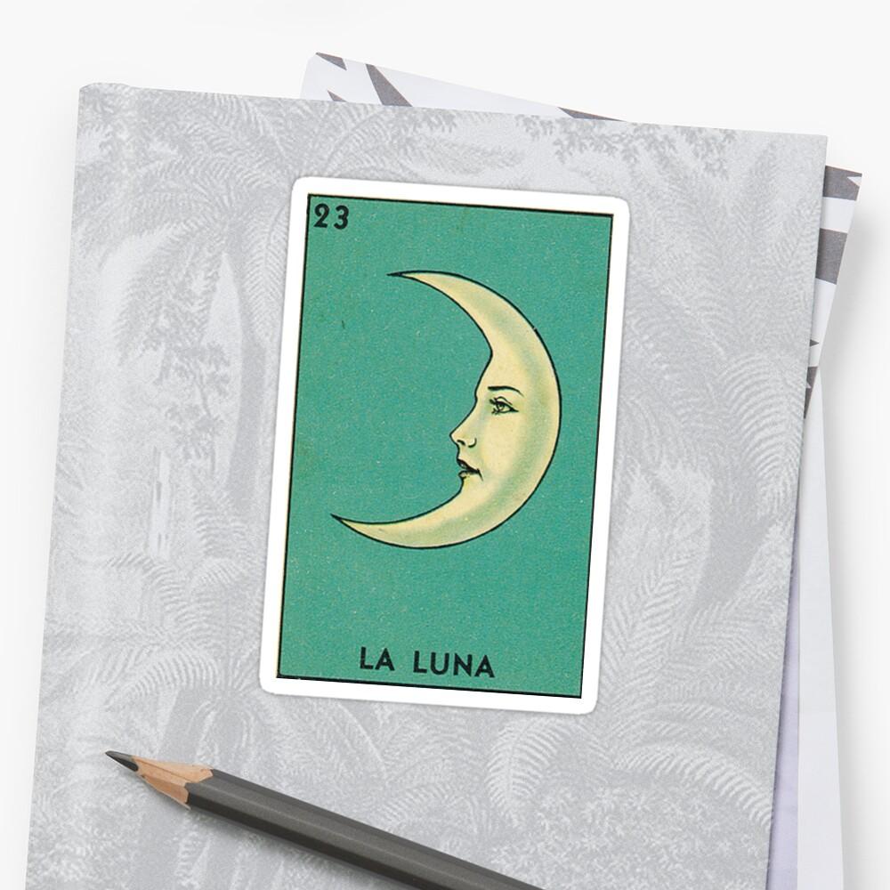 Luna Tarot Stickers