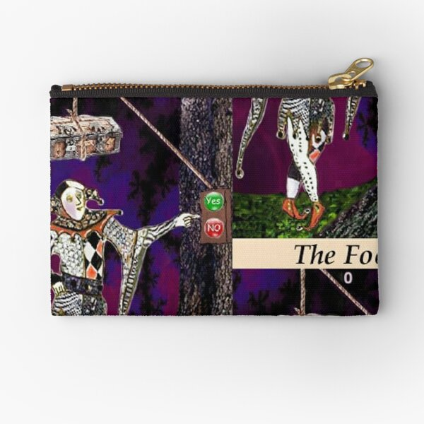 THE FOOL Zipper Pouch