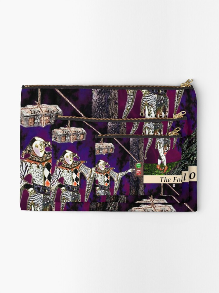 Alternate view of THE FOOL Zipper Pouch