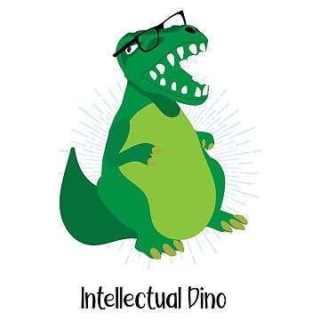 INTELLECTUAL DINO by boesarts