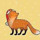 Santa Fox by mangulica