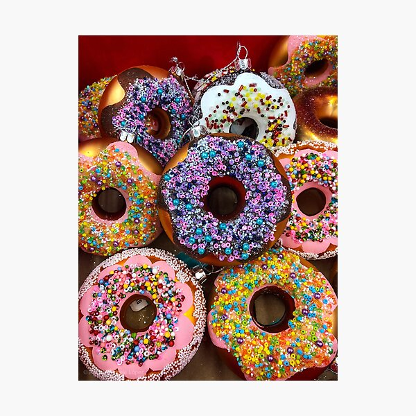 Donut Ornaments Photographic Print