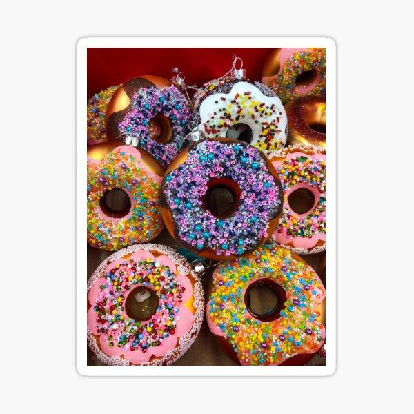 Donut Ornaments Sticker