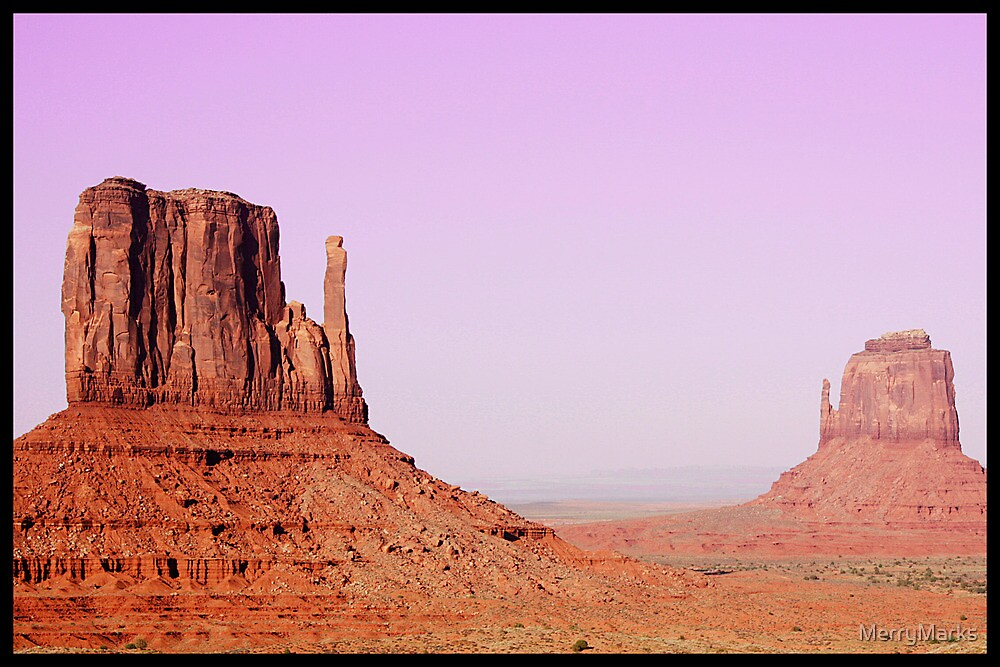 Monument Valley by MerryMarks
