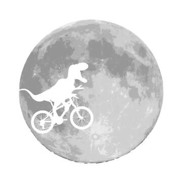 Dinosaur Bike and MOON by KingJames27x