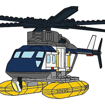 The Helicopter Lego 60067 by mecanolego