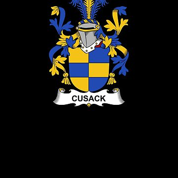 Cusack Coat of Arms - Family Crest Shirt by FamilyCrest