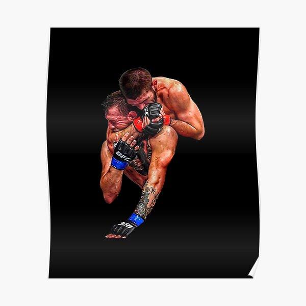 Khabib Nurmagomedov vs Conor Mcgregor (Conor Tapping) Poster