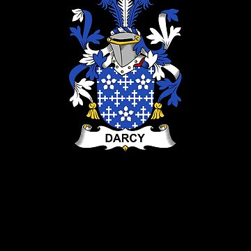 Darcy Coat of Arms - Family Crest Shirt by FamilyCrest