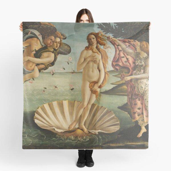 The Birth of Venus by Botticelli Scarf