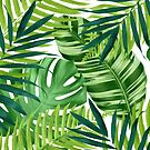 Tropical leaves III by CatyArte