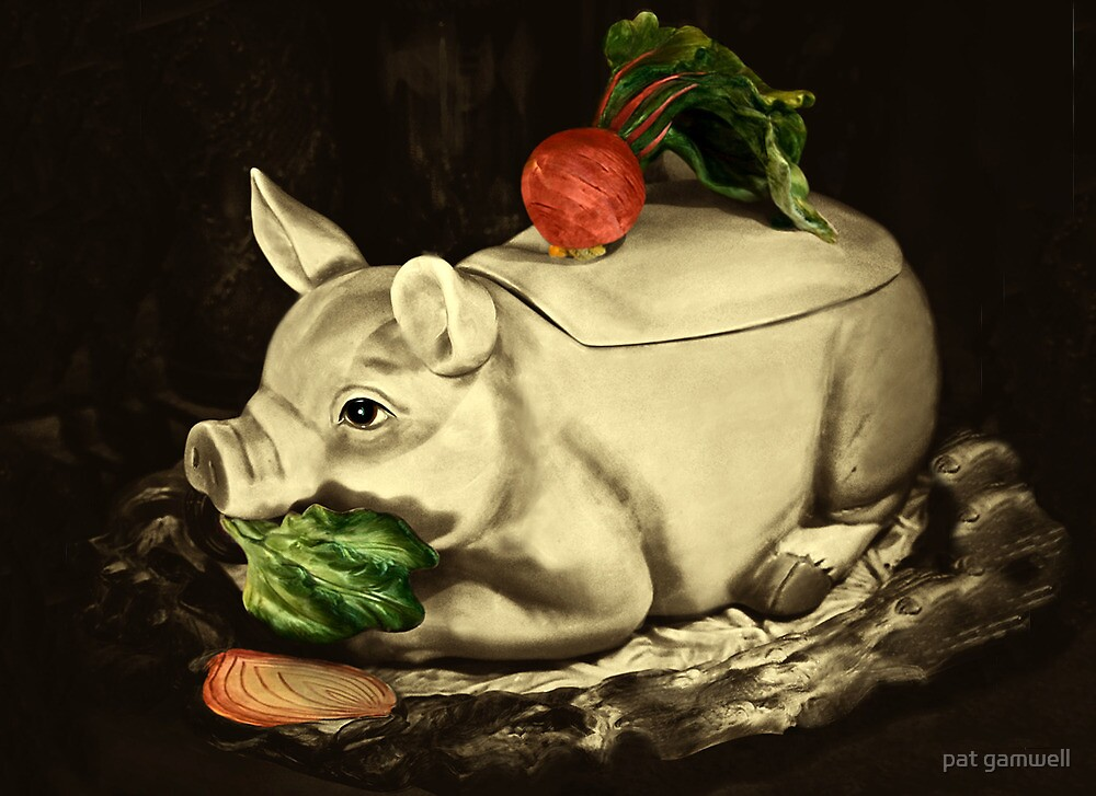 It's The Holidays...so PIG OUT! by pat gamwell