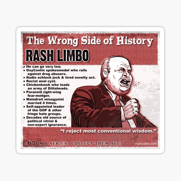 Rash Limbo Sticker